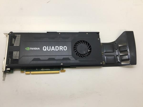 Nvidia QUADRO K4000 PCI-E 3GB GDDR5 1x DVI 2x Displayport Grafikkarte